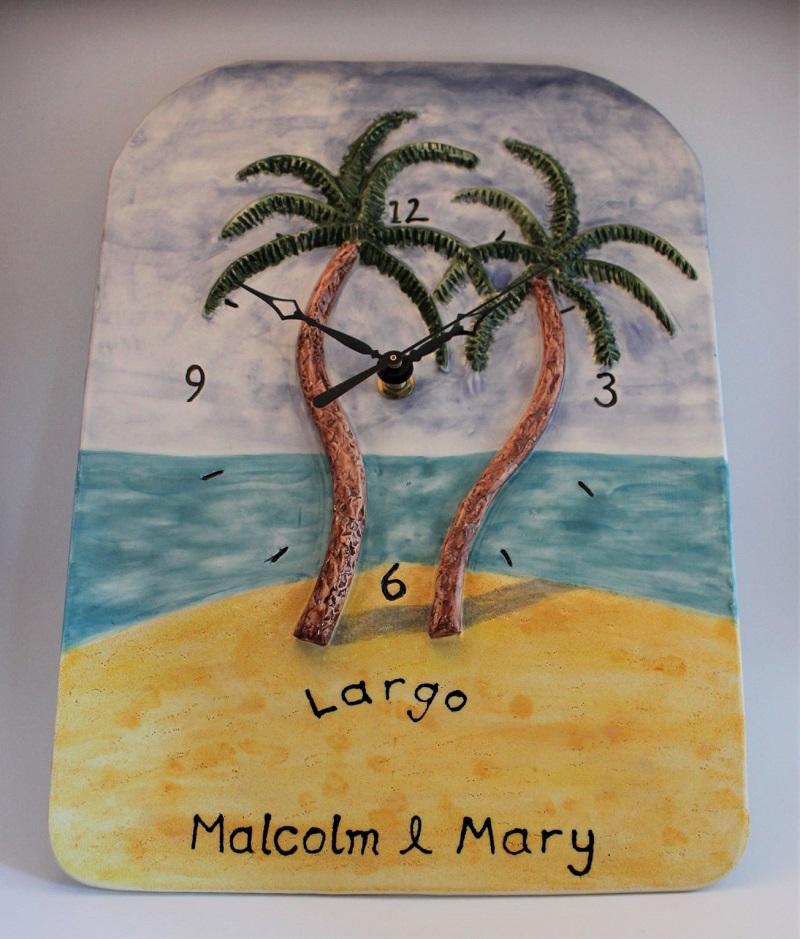 Largo palm tree