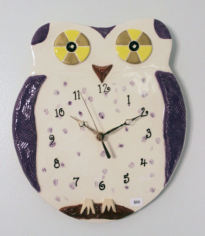 Owl, purple