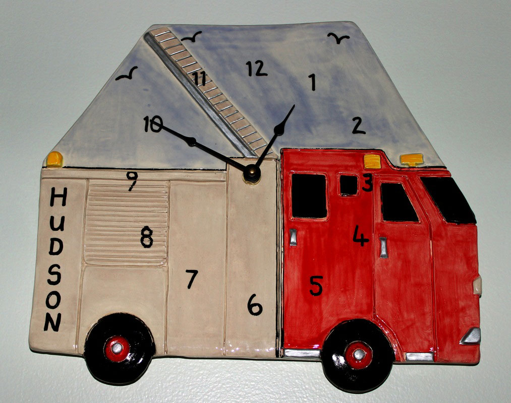 Fire Truck, personalized