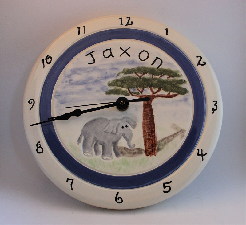 Baby nursery clock