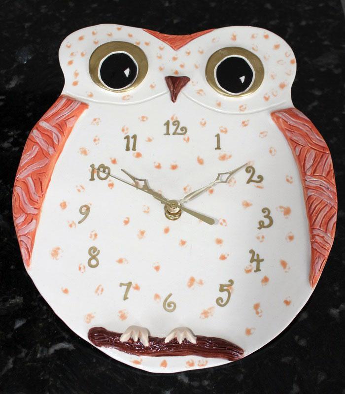 Owl, orange
