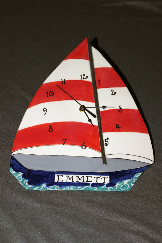 Sailboat, personalized