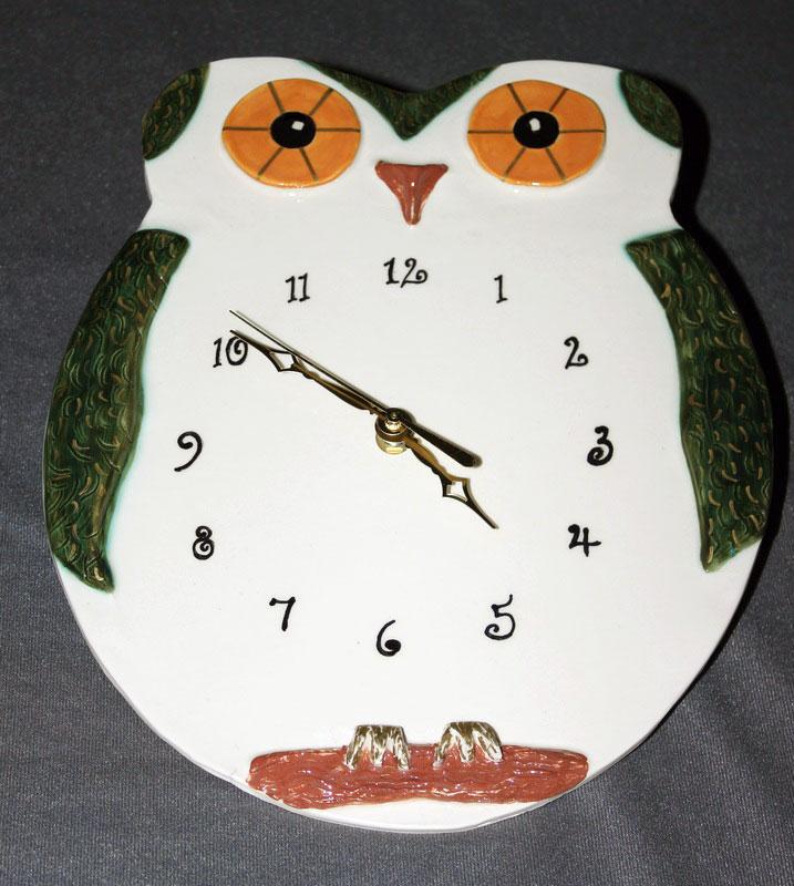 Owl, green