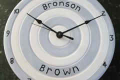 Christening clock