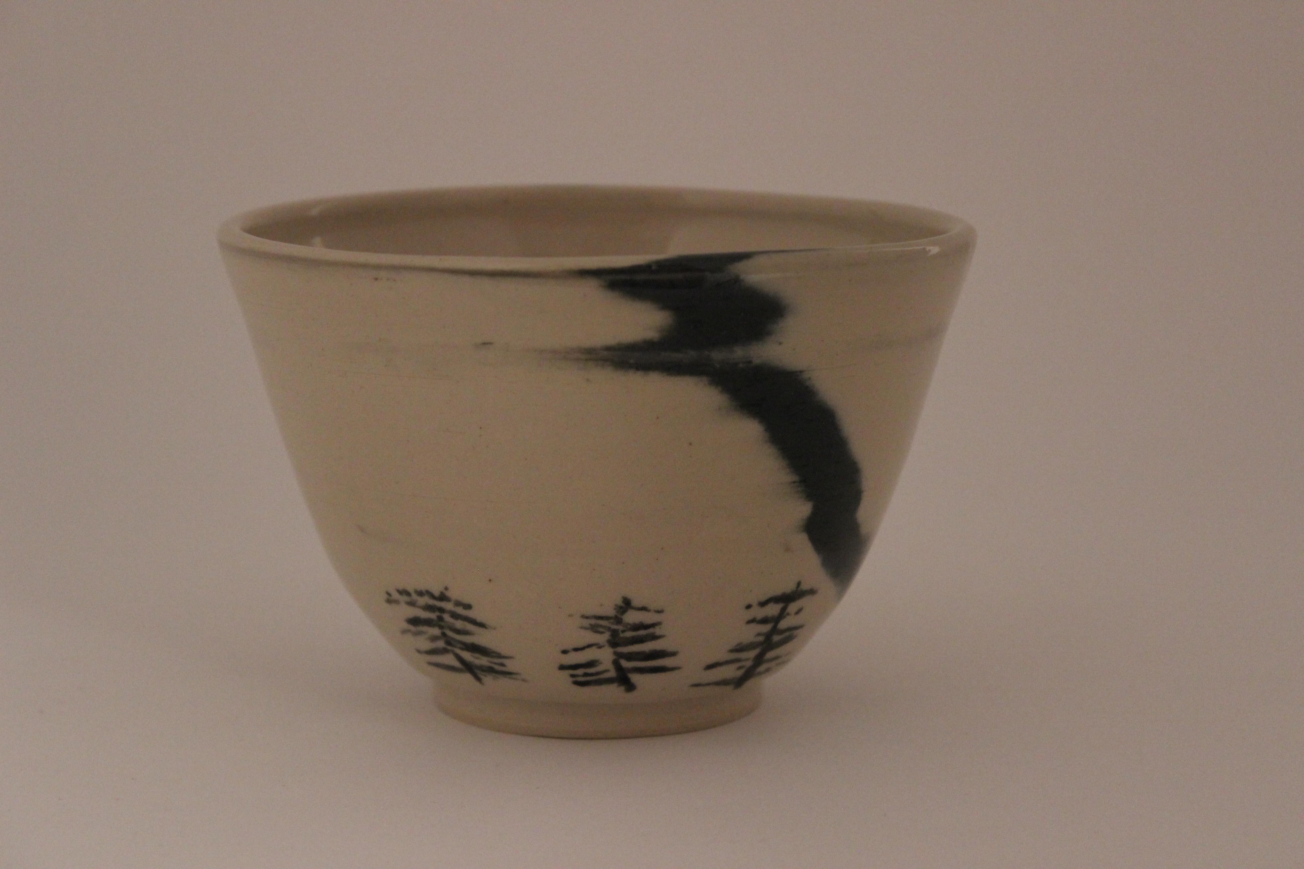 Aurora borealis bowl