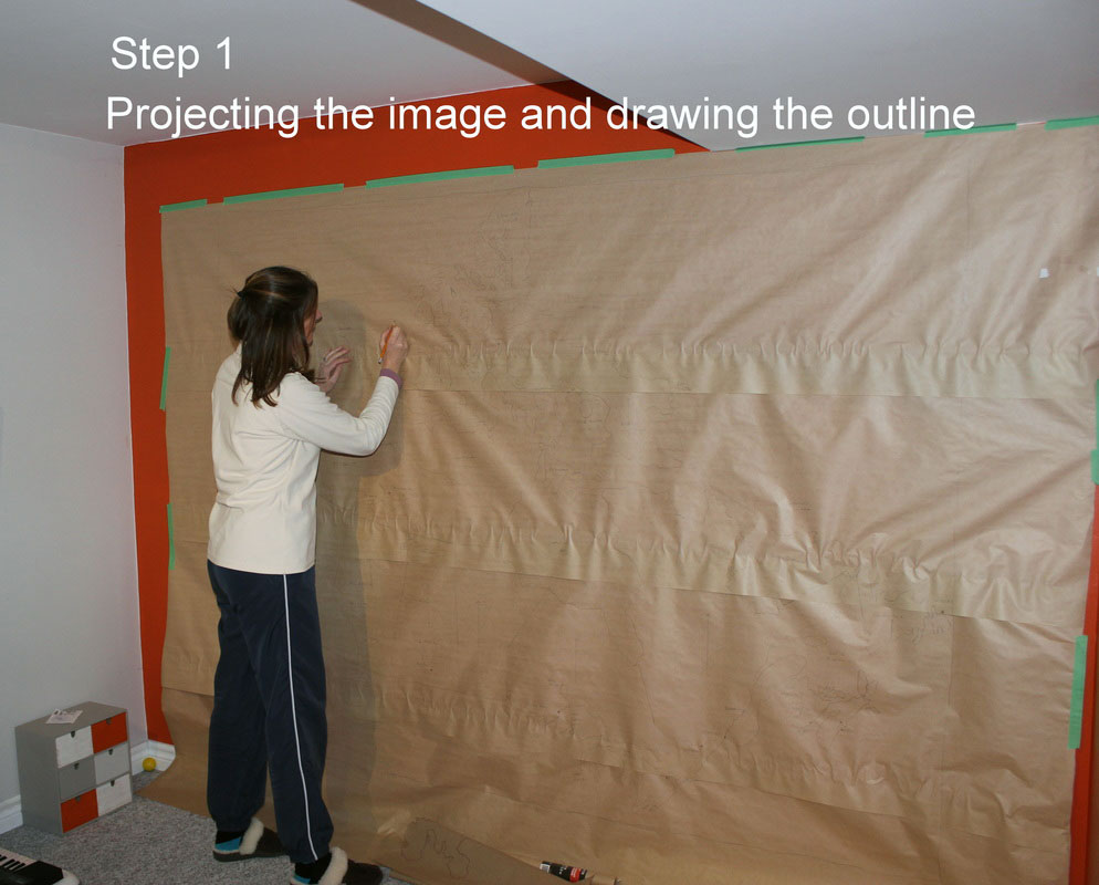 1-Projecting-the-image-and-drwaing-the-outline
